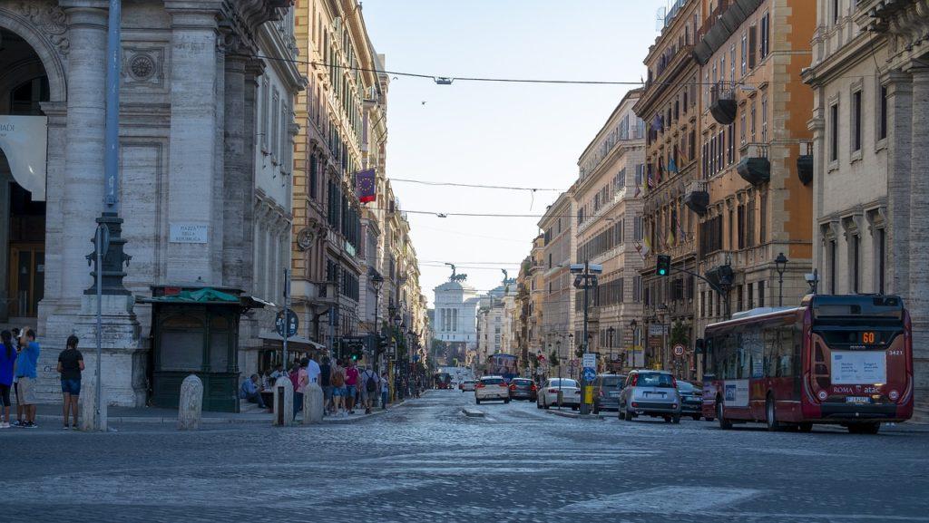 zonas Roma hotel niños