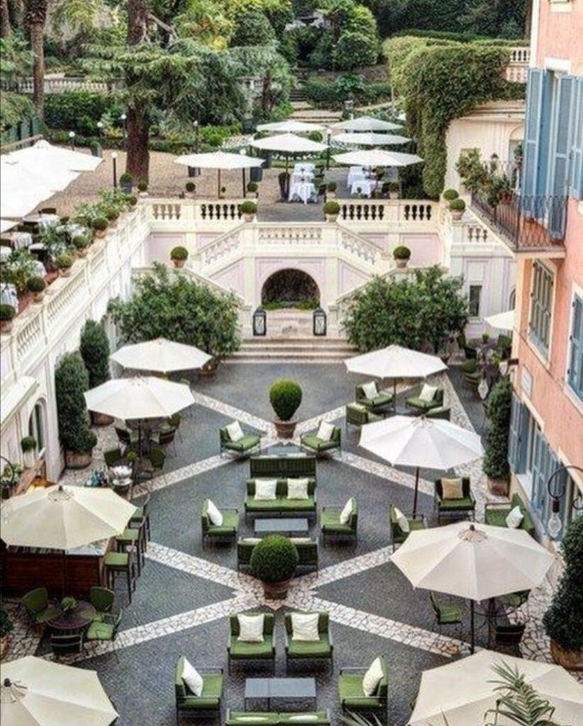 hoteles lujo centro Roma